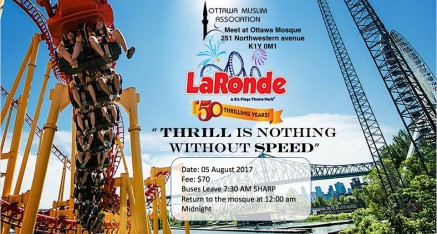 LaRonde Trip – August 5th