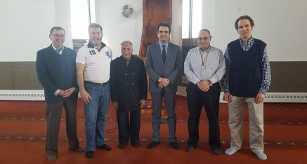 Turkish Ambassador visits Ottawa Mosque