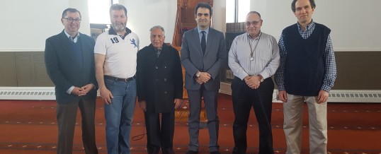 Turkish Ambassador visits Ottawa Mosque