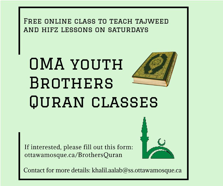 Brothers Quran Class