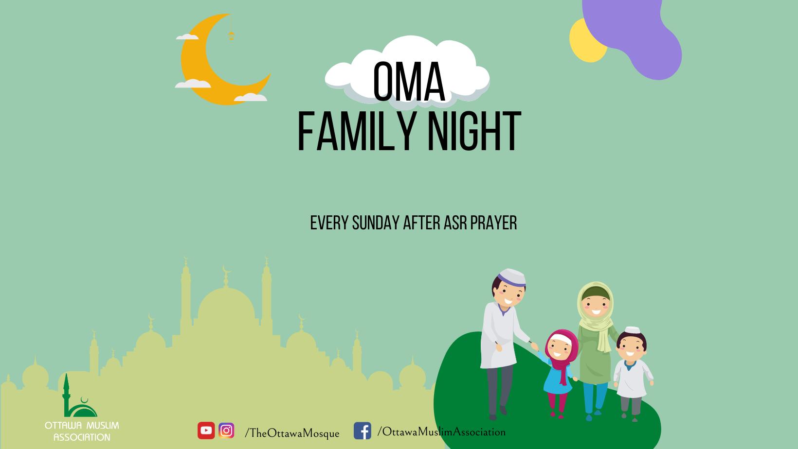 Rectangle OMA Family Night