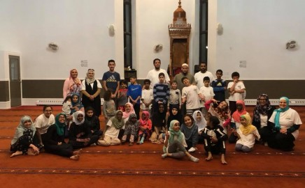 Om Al-Qura School Itikaf night 2018