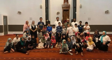 Om Al-Qura School Itikaf night 2018