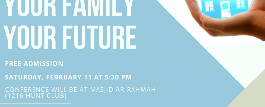 Family Conference – Free Admission