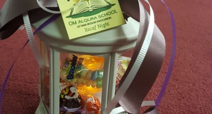 Itikaf night for Om Al-Qura girls at Ottawa Mosque