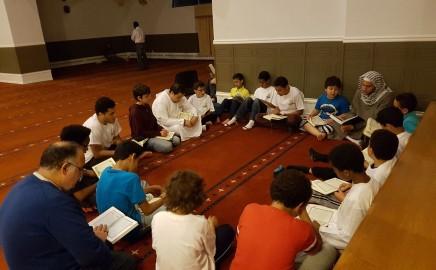 Om Al-Qura School – Itikaf night for boys at Ottawa Mosque