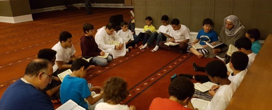 Om Al-Qura School – Itikaf night for boys at Ottawa Mosque