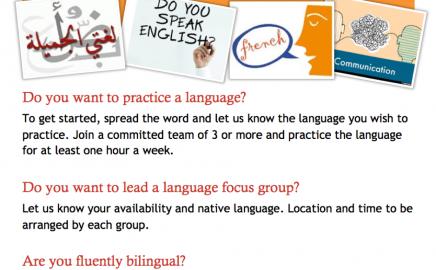 Language Exchange Program