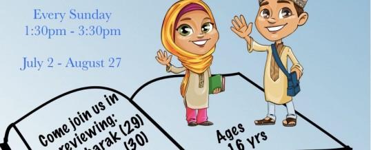 OMA Alfajr Summer Class